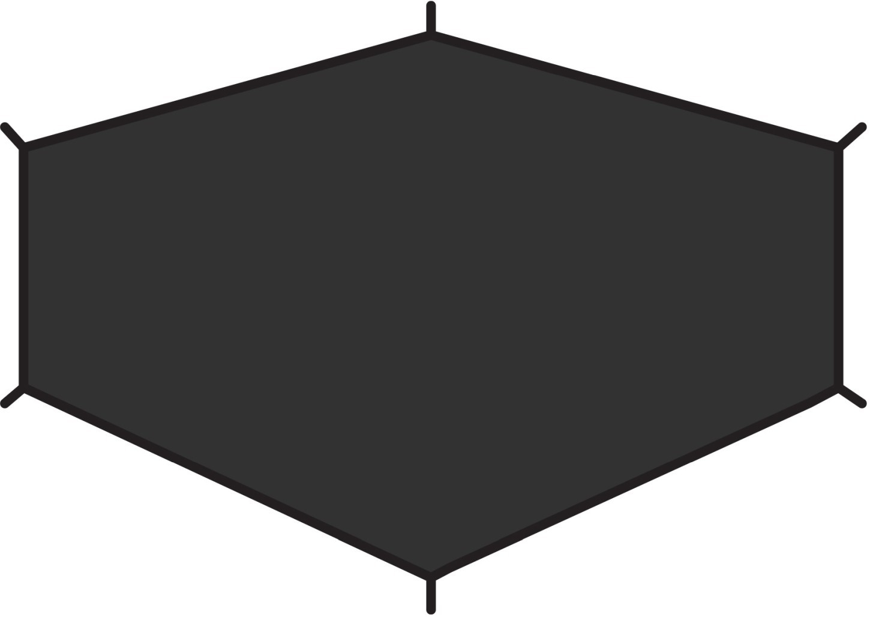 FjallRaven Lite 1 footprint