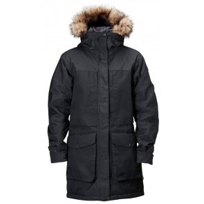 FjallRaven Barents Parka W. Black-20