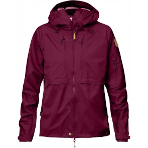 FjallRaven Keb Eco-Shell Jacket W Plum-20