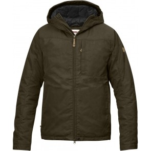 FjallRaven Kiruna Padded Jacket Dark Olive-20