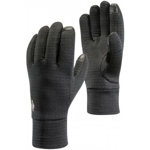 Black Diamond Midweight Gridtech Fleece Gloves Black-20