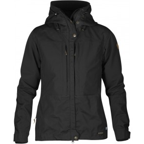 FjallRaven Keb Jacket W. Black-Black-20