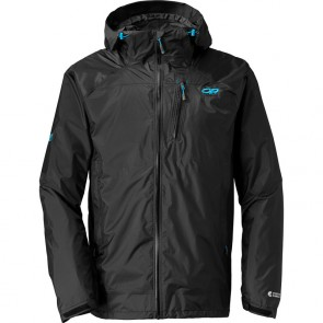Outdoor Research Men´s Helium Hd Jacket Black/Hydro-20