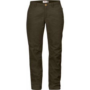 FjallRaven Sormland Tapered Trousers W Dark Olive-20
