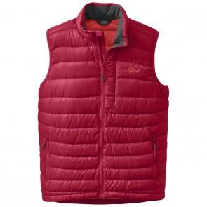 Outdoor Research OR Men's Transcendent Down Vest agate/hot sauce-20