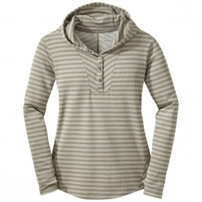 Outdoor Research OR Women's Keara Hooded Henley cairn/walnut-20