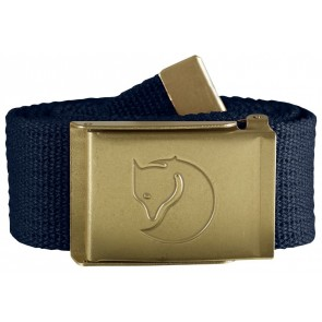 FjallRaven Canvas Brass Belt 4 cm. Dark Navy-20