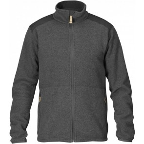 FjallRaven Sten Fleece Dark Grey-20