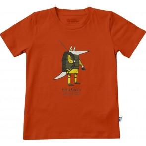 FjallRaven Kids Trekking Fox T-shirt Flame Orange-20