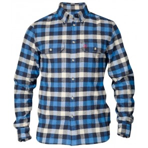 FjallRaven Skog Shirt UN Blue-20