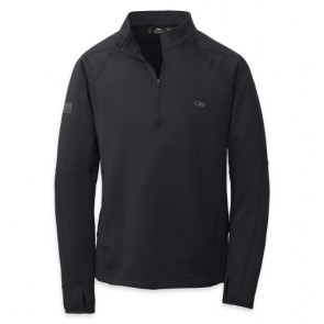 Outdoor Research Men´s Radiant LT Zip Top 001-BLACK-20