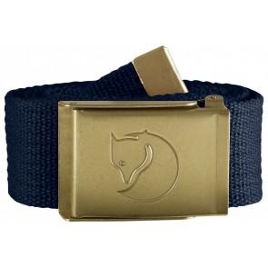 FjallRaven Canvas Brass Belt 4 cm. Dark Navy-20