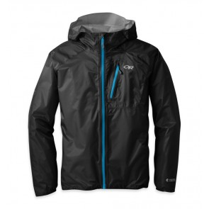 Outdoor Research Men's Helium II Jacket Black/Hydro-20