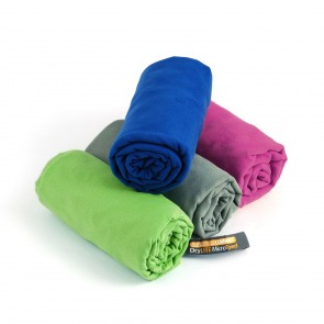 Sea To Summit Drylite Towel X-Large with Antibacterial Treatment 75cm x 150 cm Cobalt Blue-20