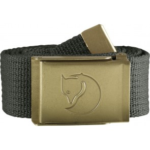 FjallRaven Canvas Brass Belt 4 cm. Mountain Grey-20