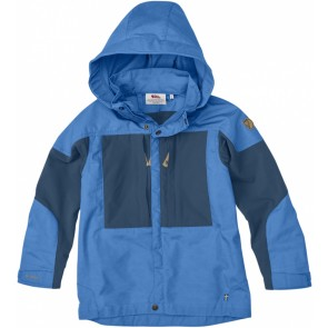 FjallRaven Kids Keb Jacket UN Blue-20