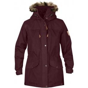FjallRaven Singi Winter Jacket W. Dark Garnet-20