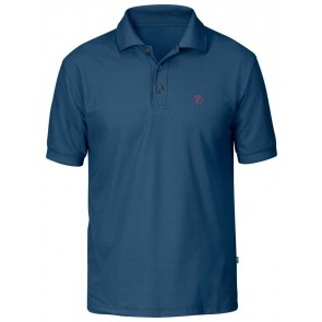 FjallRaven Crowley Pique Shirt Uncle Blue-20