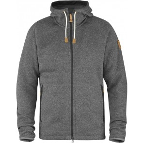 FjallRaven Övik Fleece Hoodie Dark Grey-20