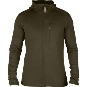 FjallRaven Keb Fleece Jacket Dark Olive-20