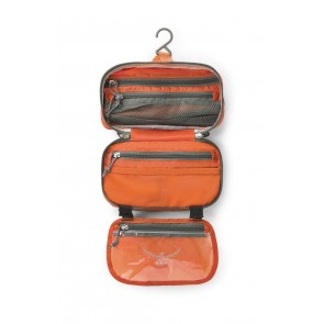 Osprey Wash Bag Zip Poppy Orange-20