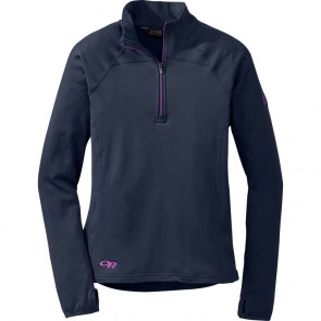 Outdoor Research WomenŽs Radiant LT Zip Top 59B-NIGHT/ULTRAVIOLET-20