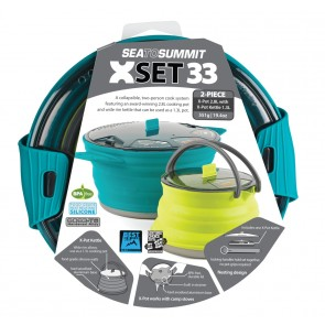 Sea To Summit X-Set: 33 3pc (X-Pot 2.8L, X-Pot Kettle 1.3L)-20