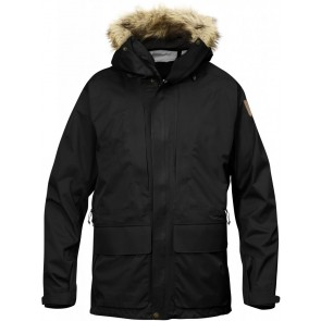 FjallRaven Keb Eco-Shell Parka Black-20