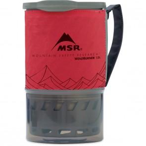 MSR WindBurner 1.0L Personal Stove System Red-20