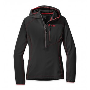 Outdoor Research Women's Whirlwind Hoody Jacket black/charcoal-20