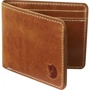 FjallRaven Övik Wallet Leather Cognac-20