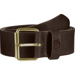 FjallRaven Sarek Belt 4 cm. Leather Brown-20
