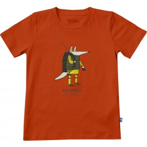 FjallRaven Kids Trekking Fox T-shirt Flame Orange-20