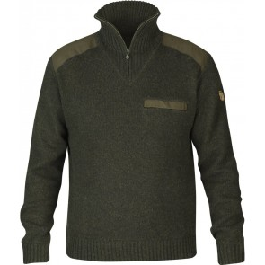 FjallRaven Koster Sweater Dark Olive-20