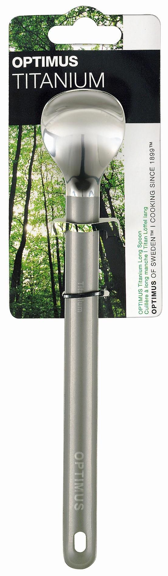 Optimus Titanium Long Spoon