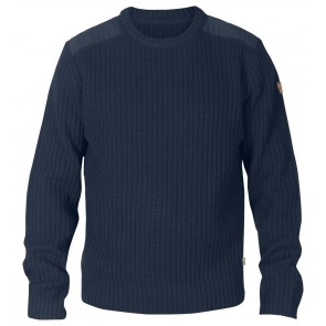 FjallRaven Sarek Knit Sweater Dark Navy-20