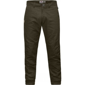 FjallRaven Sormland Tapered Winter Trousers Dark Olive-20