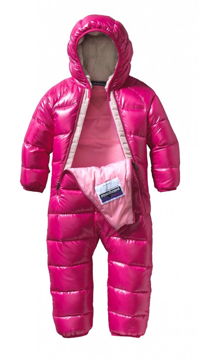 Patagonia Baby Hi Loft Down Sweater Bunting Radiant