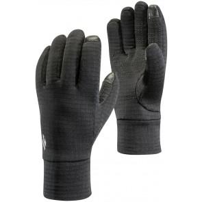 Black Diamond Midweight Gridtech Fleece Gloves Black-20