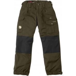 FjallRaven Kid's Vidda Padded Trousers Dark Olive-20