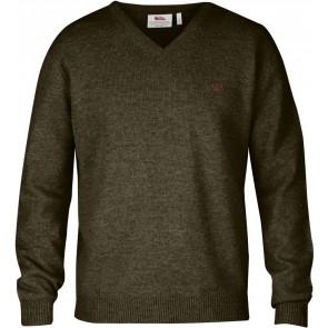 FjallRaven Shepparton Sweater Dark Olive-20