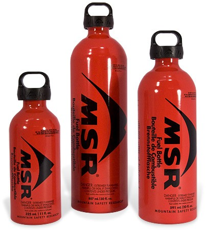 MSR Fuel Bottle 11oz CRP Cap
