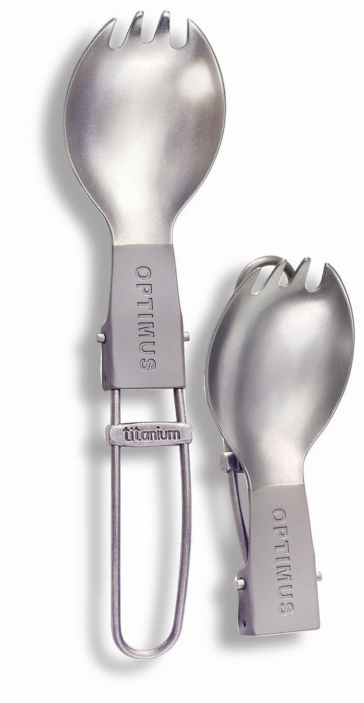 Optimus Titanium Folding Spork