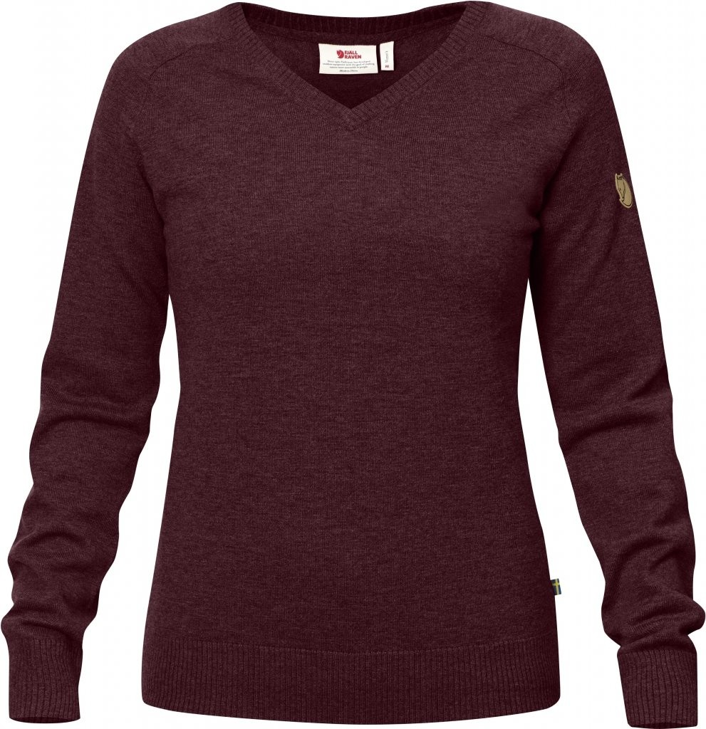 FjallRaven Sormland V-Neck Sweater W
