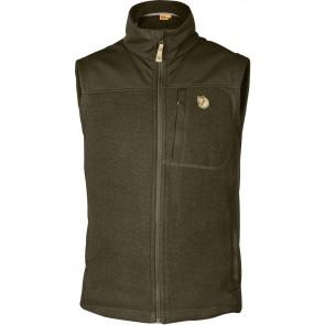 FjallRaven Buck Fleece Vest Dark Olive-20