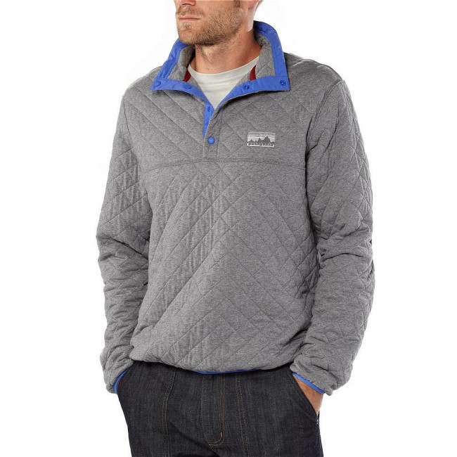 Patagonia Diam Quilt P/O Feather Grey - be_nl