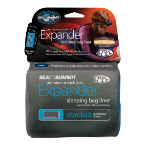 Sea To Summit Expander Liner Standard Navy Blue-20