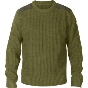 FjallRaven Sarek Knit Sweater Dark Olive-20