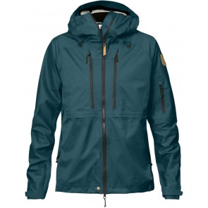 FjallRaven Keb Eco-Shell Jacket W Glacier Green-20