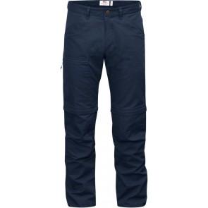 FjallRaven High Coast Trousers Zip-Off Navy-20